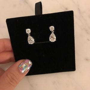 Nadri Jewelry - Nadri Cubic Zirconia Update Teardrop Earrings